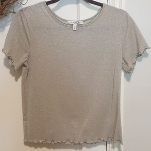 Express Metallic Top